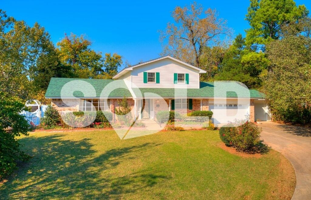 1909 Dougherty Drive, Shawnee, OK 74804 is sold and closed
