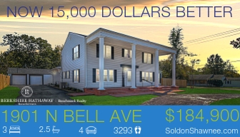 1901 N Bell Ave $15,000 price reduction
