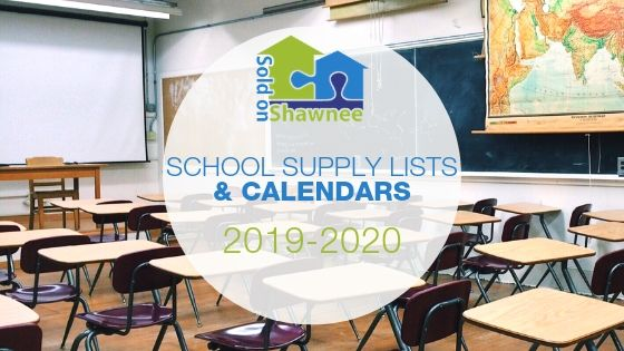 2019-2020 School Supply Lists & Calendars