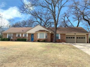Front view of 1810 Dougherty Drive, Shawnee, OK 74804