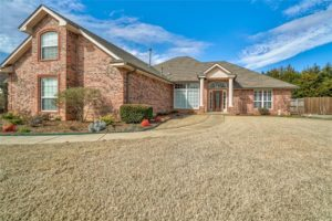 front view of 4408 Lilley Valley, Shawnee, OK
