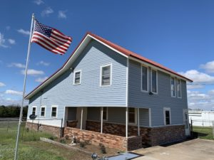 2-story farmhouse at 48052 River Rd, Earlsboro, OK 74840
