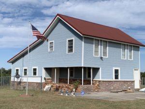 2-story farmhouse at 48052 River Rd, Earlsboro, OK 74840