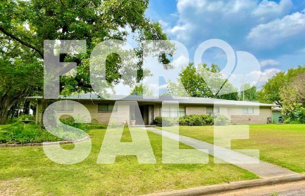 1604 English Drive, Shawnee, OK 74804 is for sale