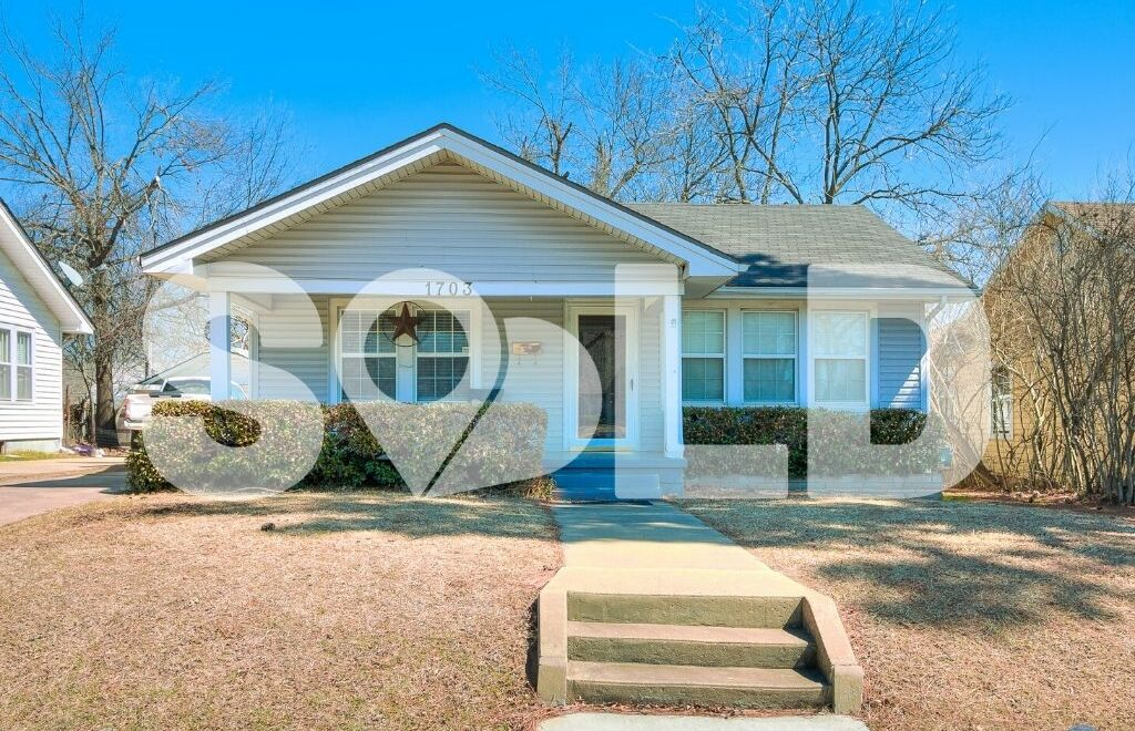 1703 N Broadway Ave, Shawnee, OK 74804 is sold and closed