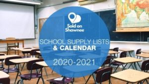 Graphic for 2020-2021 Shawnee Public Schools Academic Calendar and Supply Lists