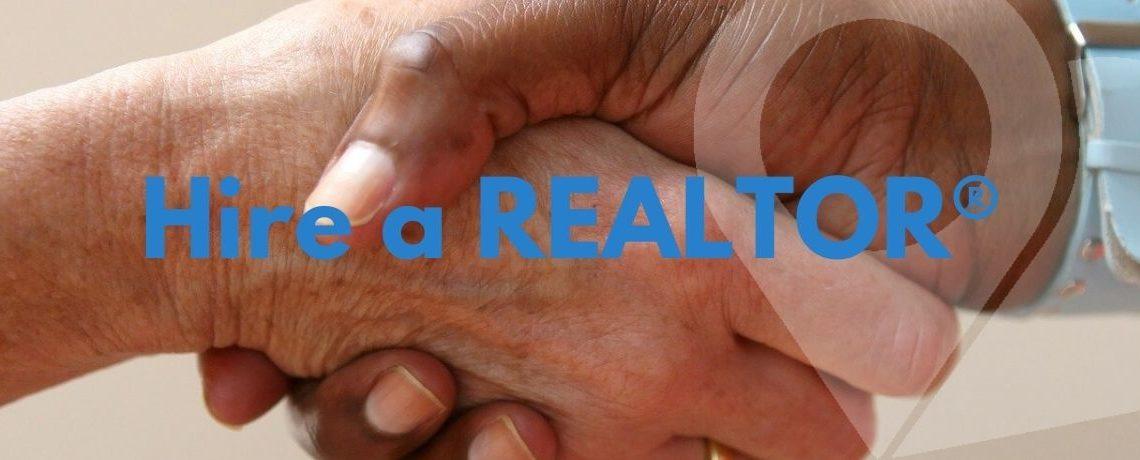 handshake signifying hiring a REALTOR®