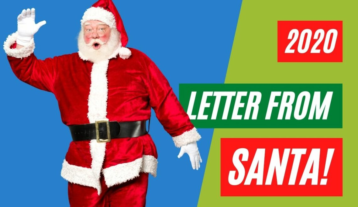 Receive a personalized letter from Santa compliments of Steve Reese, Sold on Shawnee