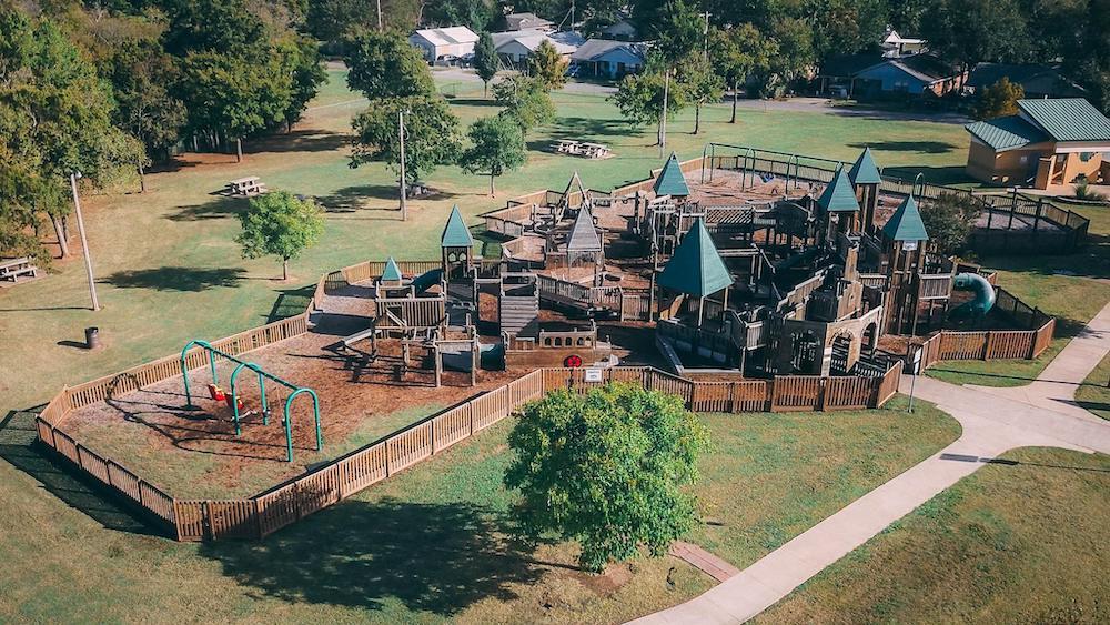Kids Space Park in Shawnee, Oklahoma