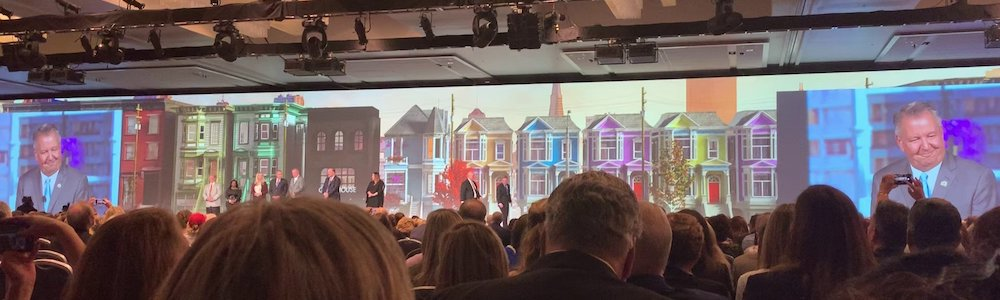photo of NAR 360 stage at the 2019 REALTORS® Conference & Trade Expo in San Francisco