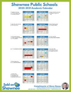 Click image to download 2020-2021 Shawnee Public Schools Academic Calendar