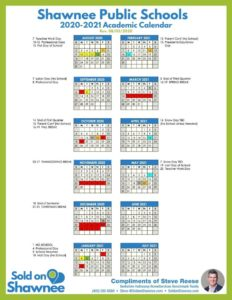 Click image to download 2020-2021 Shawnee Public Schools Academic Calendar